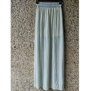 Rachel Roy Silk Maxi skirt